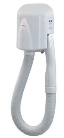 Gedy Scirocco Hair Dryer With Shaver Socket White 4054-02