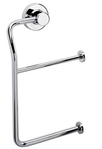 Sonia Tecno Project Double Toilet Roll Holder Chrome 116980