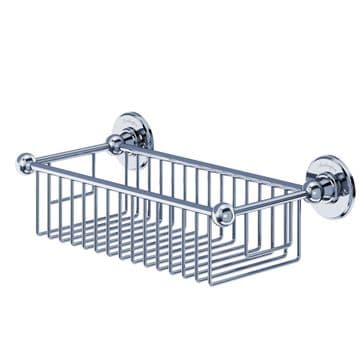 Burlington Deep Rectangle Basket Chrome A23 CHR