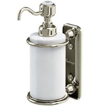 Burlington Single Soap Dispenser Nickel A19 NKL