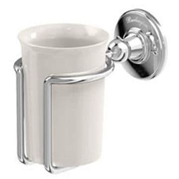 Burlington Tumbler Holder Chrome with Medici A2 CHR MED