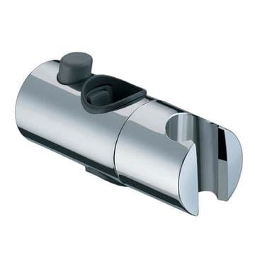 EuroShowers Push Button Chrome Slider 25mm SL40