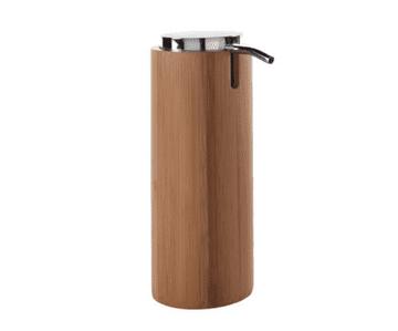 Gedy Altea Bamboo Soap Dispenser Natural/Chrome AL80-35