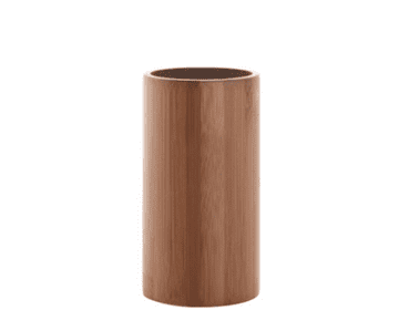 Gedy Altea Bamboo Tumbler Natural/Chrome AL98-35