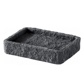 Gedy Aries Soap Dish Anthracite AR11-85
