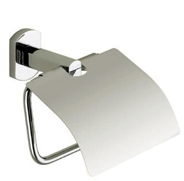 Gedy Edera Toilet Roll Holder With Flap Chrome EP25-13