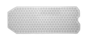 Gedy Funky Bubble Long Bath Mat Clear 971040-00