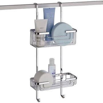 Gedy Hanging Shower Rack 2 Tier 5683-13