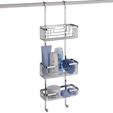 Gedy Hanging Shower Rack 3 Tier 5684-13