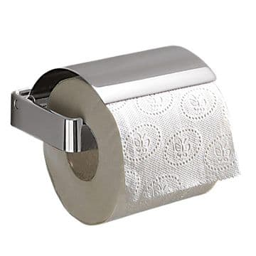 Gedy Lounge Toilet Roll Holder With Flap Chrome 5425-13