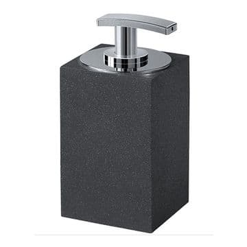 Gedy Minerva Soap Dispenser Anthracite 1280-85