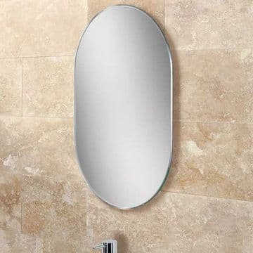 HiB Jessica Lozenge Shaped Bevelled Mirror 40x60 76100000