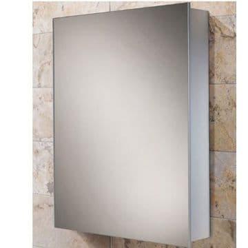 HiB Kore Slim Line Aluminium Mirrored Cabinet 40x60 43900