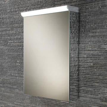 HiB Spectrum Single Door Cabinet With LED Illumination And Shaver Socket 50x70 44700