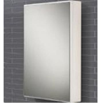 HiB Tulsa Slimline Single Door Mirrored Cabinet 50x70 9101600
