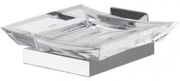 IBB Firenze Acrylic Soap Dish Satin Gold FI01AORS/ORS