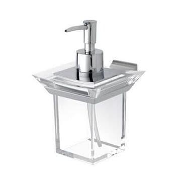 IBB Firenze Acrylic Soap Dispenser Chrome FI01DACRO/CRO