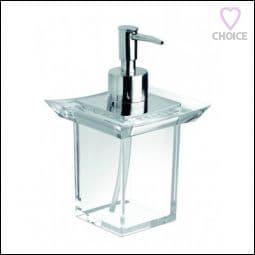 IBB Firenze Freestanding Acrylic Soap Dispenser Chrome FI21DACRO/CRO
