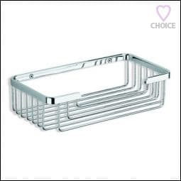 IBB Grand Hotel Wall Mounted Basket Matt White GH77BIO/BIO