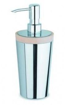 IBB Lapiana Freestanding Soap Dispenser, Ivory Natural-LN21DCRO/CRO