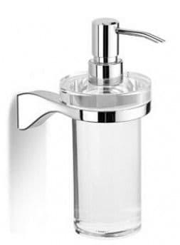 IBB Milano Glass Soap Dispenser - ML01DCRO/CRO