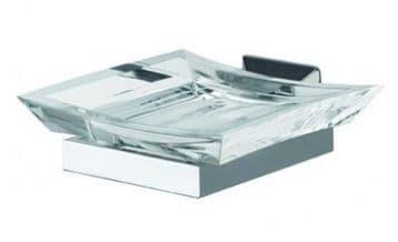 IBB Ritz Acrylic Soap Dish - RZ01CRO/CRO