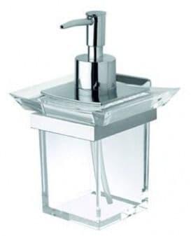 IBB Ritz Acrylic Soap Dispenser - RZ01DCRO/CRO