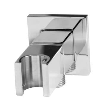 Saneux Square Outlet Elbow And Holder with Stopcock - S1029