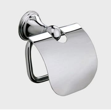 Sonia Genoa Toilet Roll Holder With Flap Chrome 107698