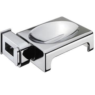 Sonia Nakar Metal Soap Dish Chrome 123889