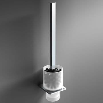 Sonia S-Cube Toilet Brush Set Chrome 166855