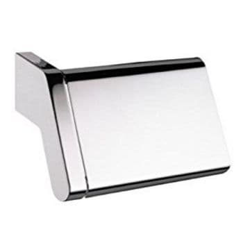 Sonia S3 Toilet Roll Holder With Flap Chrome 124718