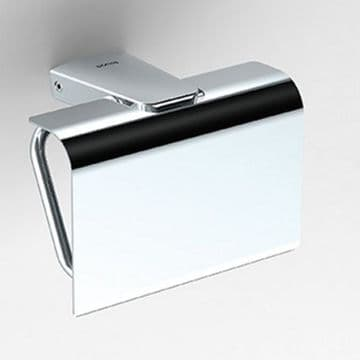 Sonia S6 Toilet Roll Holder With Flap Chrome 161034