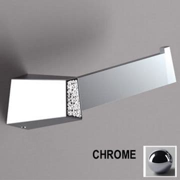 Sonia S8 Swarovski Open Toilet Roll Holder Chrome 161959