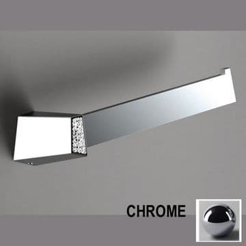 Sonia S8 Swarovski Open Towel Bar Chrome 161904