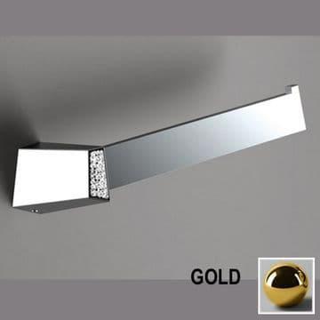 Sonia S8 Swarovski Open Towel Bar Gold 165063