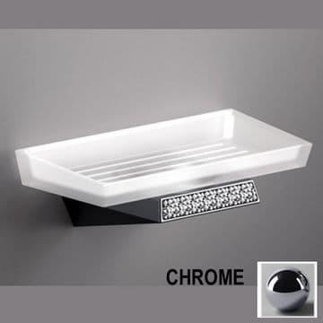 Sonia S8 Swarovski Soap Dish Chrome 161928