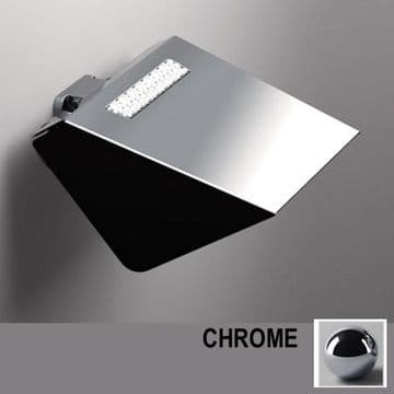 Sonia S8 Swarovski Toilet Roll Holder With Flap Chrome 161942