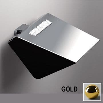 Sonia S8 Swarovski Toilet Roll Holder With Flap Gold 165049