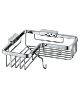 Vado Corner Basket with Hook - BAS-2014-C/P