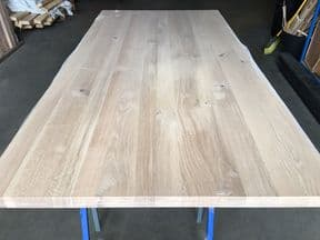 2400x1210x40mm Character/ Knotty Oak Table tops