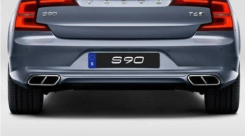 S90 Diffuser & Integrated End Pipes