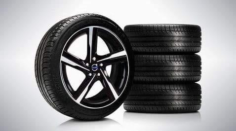 """V40 """"Ixion II"""" 7.5 x 18 wheel & tyre x4 package"""