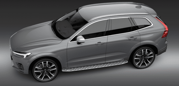XC60 Integrated Running Boards