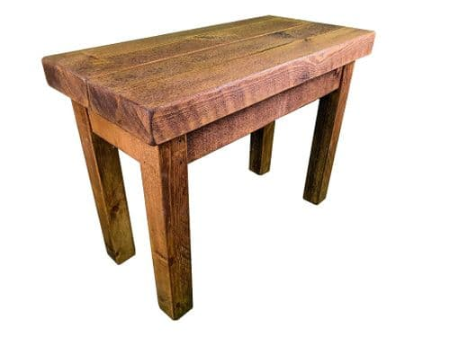 Tortuga Rustic 24x12 inch side table