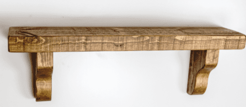 Tortuga Rustic Wooden Shelf