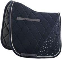 HARRYS HORSE VELVET SADDLE CLOTH - BLACK - RRP £39.99 - SALE (1)