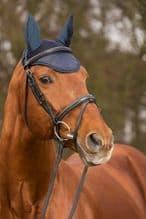 HKM LAURIA GARRELLI PARIS COLLECTION EARS - NAVY BLUE - RRP £22.00