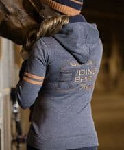 HKM PRO TEAM HICKSTEAD ZIP UP SWEAT TOP - RRP £