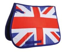 HKM UNION JACK FLAG SADDLE CLOTH PAD -RRP £36.99